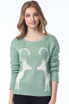 Джемпер с оленями VIAGGIO