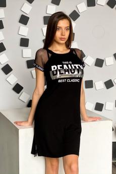 Модное черное платье Натали